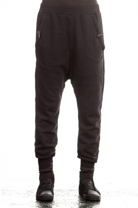 Y-3 Damen Sweat Hose schwarz