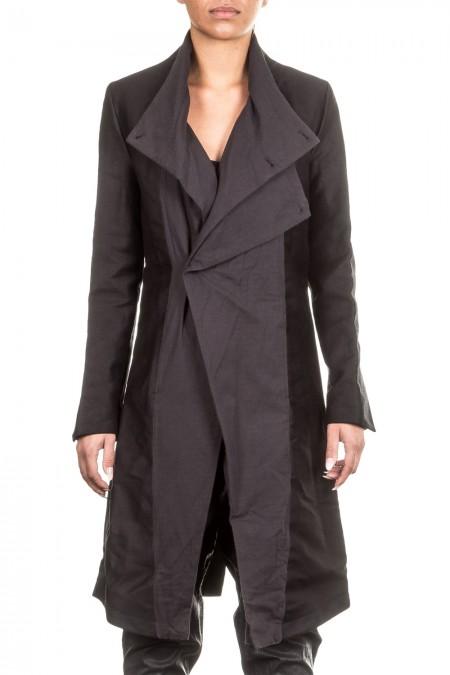 UMASAN Damen Mantel schwarz