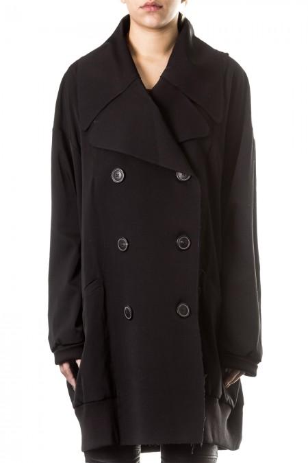 Rundholz  Damen Mantel schwarz