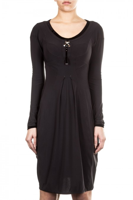 HIGH Damen Kleid MERRY schwarz