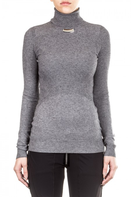 HIGH Damen Pullover UPGRADE grau