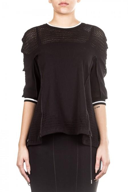 HIGH Damen Pullover LUPIN schwarz