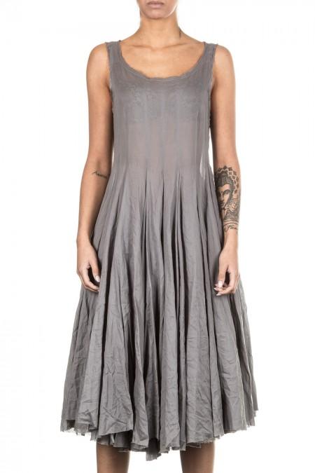 Rundholz Damen Kleid Avantgarde grau