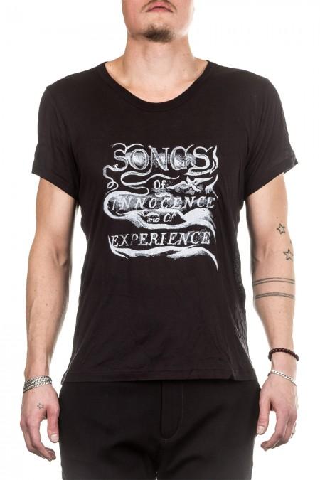 Ann Demeulemeester Herren T-Shirt schwarz