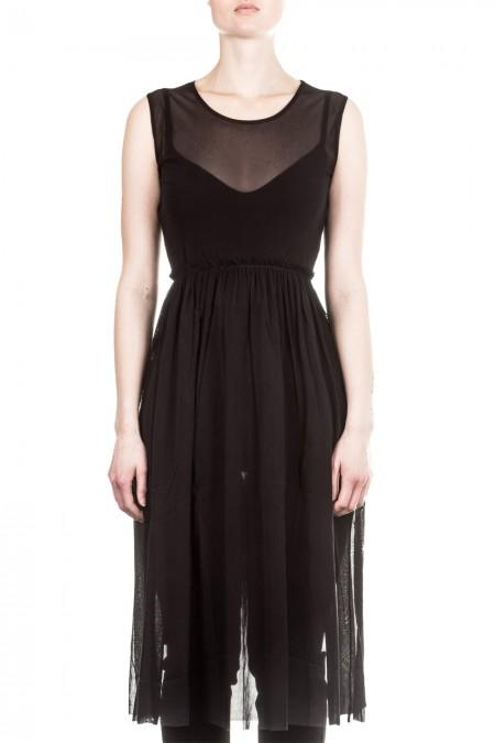 AVANT TOI Damen Tüll Kleid schwarz
