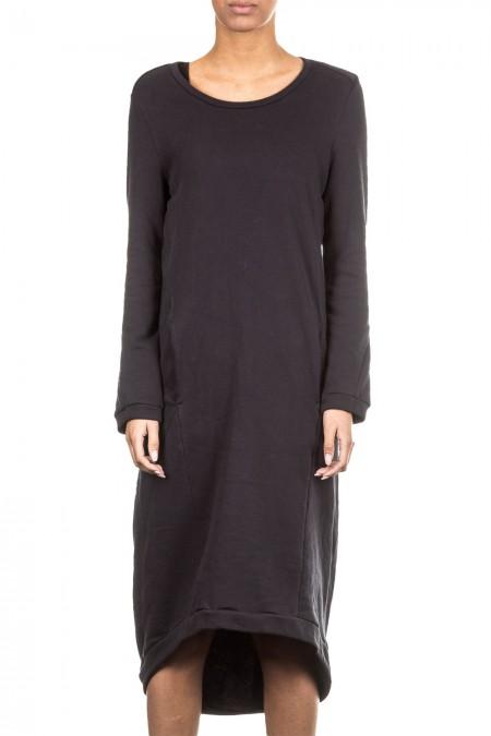 Umasan Damen Sweat Kleid schwarz