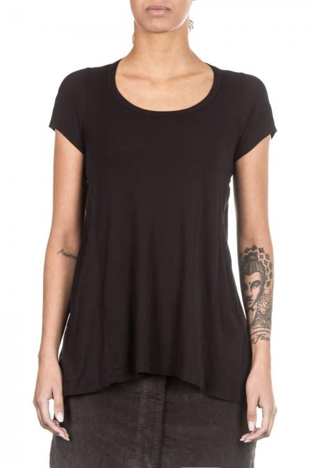 Rundholz Black Label Damen T-Shirt Avantgarde schwarz