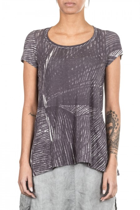 Rundholz Black Label Damen T-Shirt Avantgarde grau