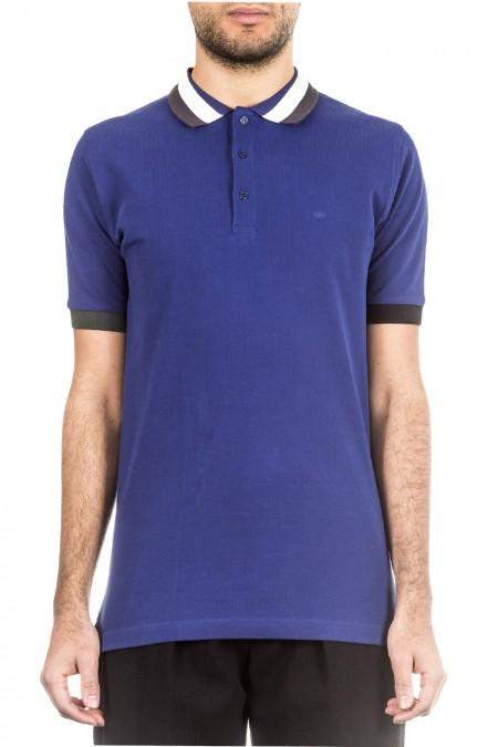 RAF by Raf Simons Herren Polo-Shirt blau