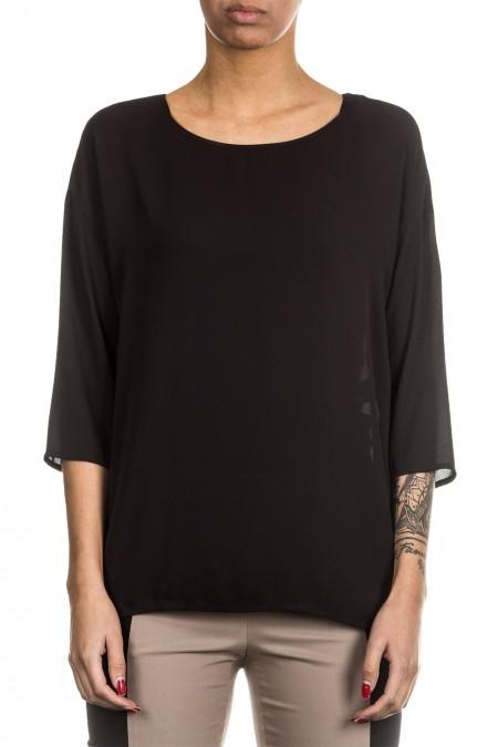 Minx Damen Bluse schwarz