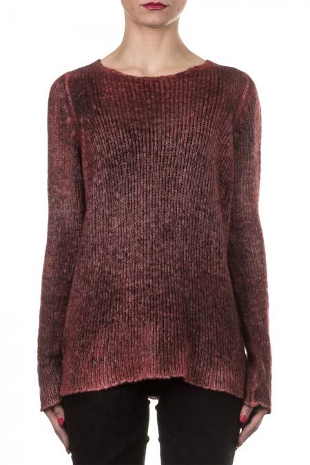 AVANT TOI Damen Kaschmir Mix Pullover rot