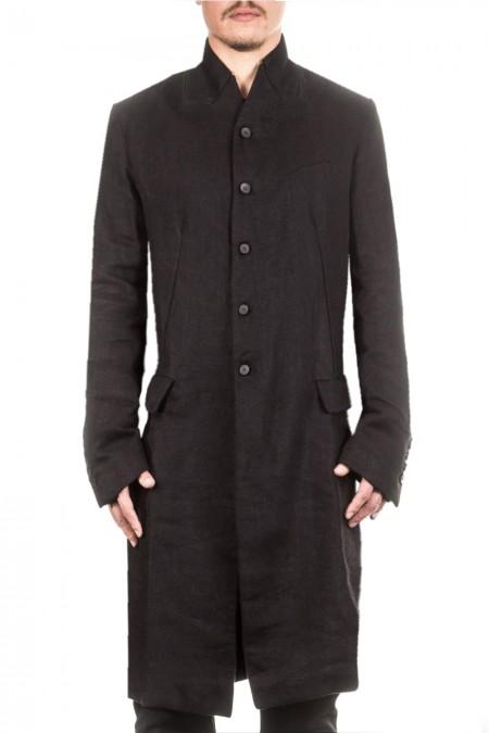 Masnada Herren Mantel schwarz