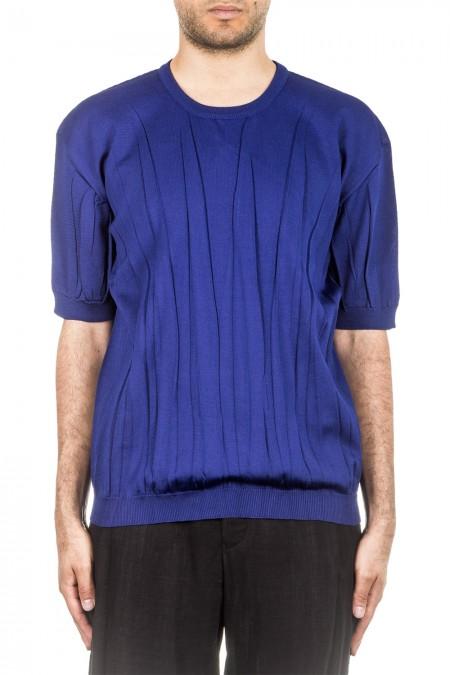 ISSEY MIYAKE Herren Pullover blau