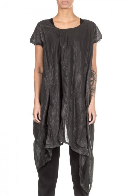 Rundholz Damen Kleid grau