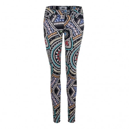 Paige Jeans MAJESTIC CROWN Ultra Skinny print