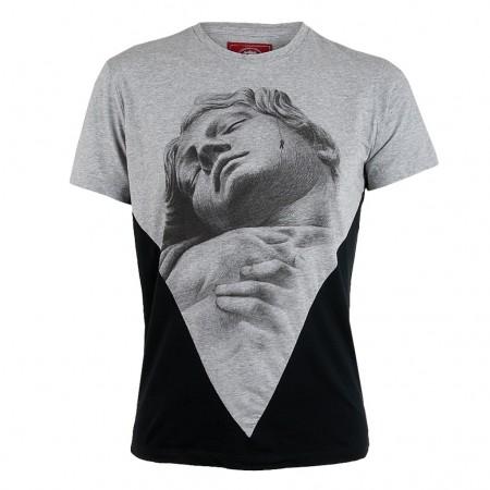 Tee Library T-Shirt GULLIVER grau