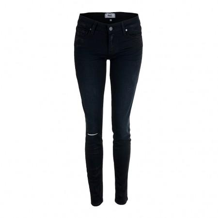 Paige Jeans VERDUGO Ultra Skinny schwarz Glanz