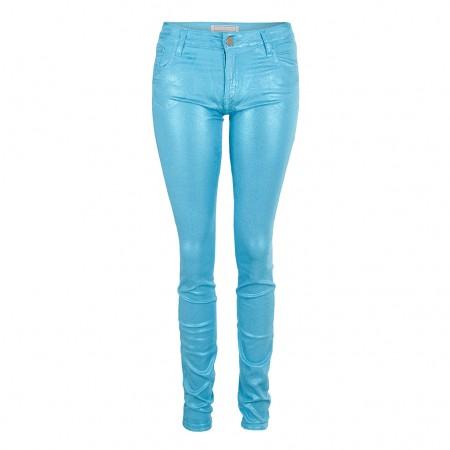 75 Faubourg Skinny Jeans ELECTRIC blau