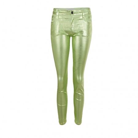 75 Faubourg Skinny 7/8 Jeans ACID gruen