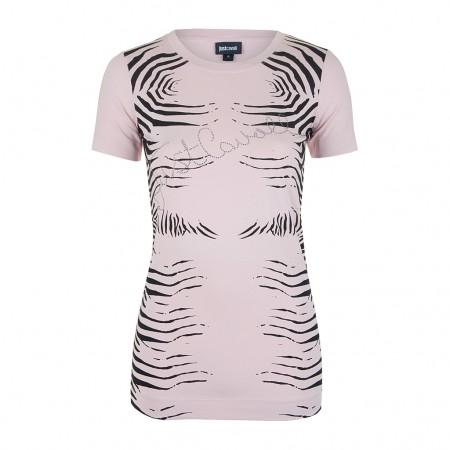 Just Cavalli Shirt zebra print rosa