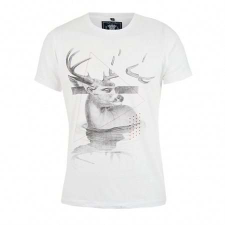 Tee Library T-Shirt ARTEMIS weiss