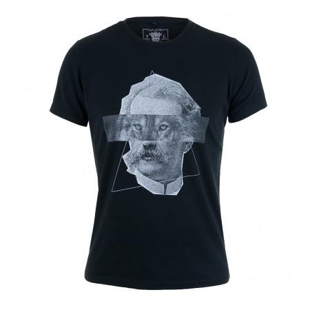 Tee Library T-Shirt THE WEREWOLF schwarz