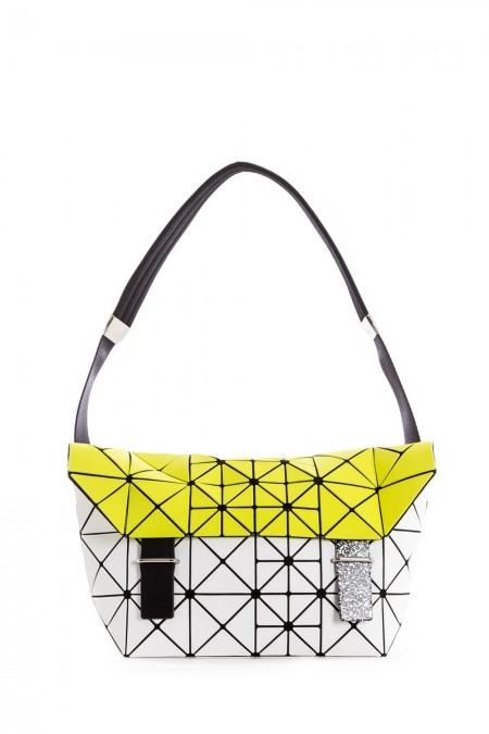 BAO BAO ISSEY MIYAKE Handtasche gelb weiß