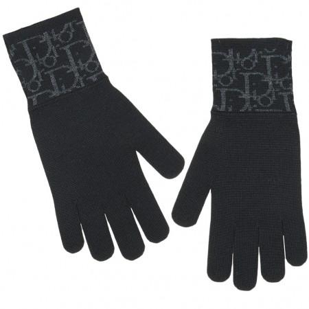 Dior Handschuhe schwarz
