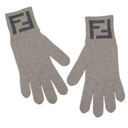 Fendi Handschuhe beige