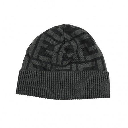Fendi Mütze schwarz/grau