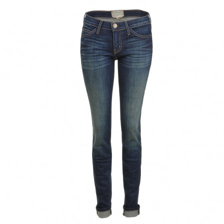 Current Elliott THE SKINNY Jeans blue