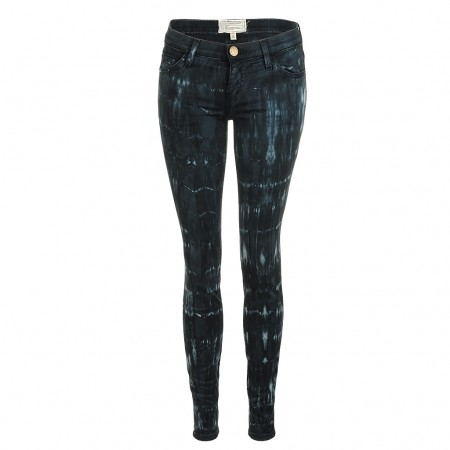 Current Elliott THE ANKLE SKINNY indigo tie dye
