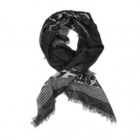 Givenchy Schal schwarz/grau