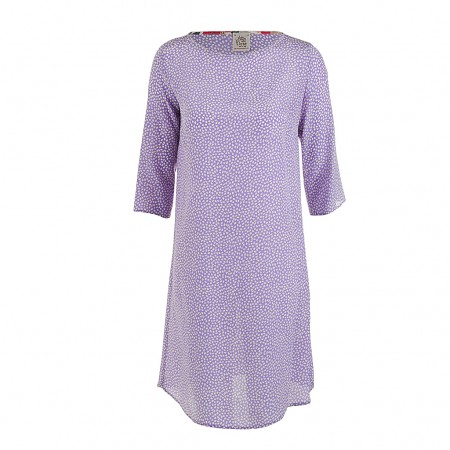 Attic & Barn Seidenkleid LIVI lavendel