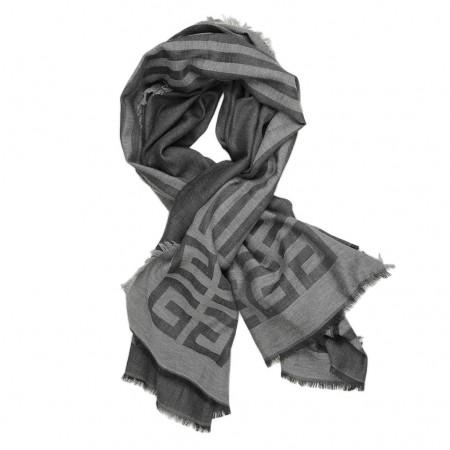 Givenchy Schal anthrazit/schwarz