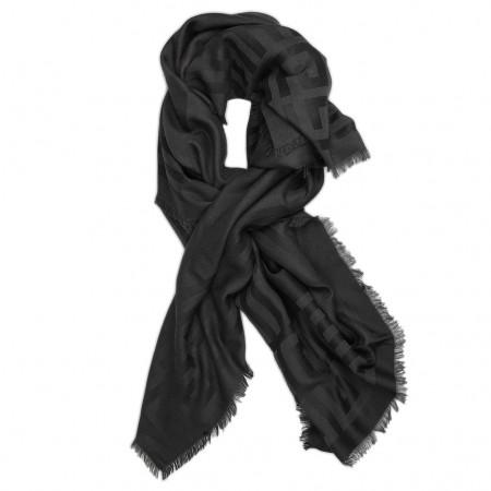 Givenchy Schal schwarz/anthrazit