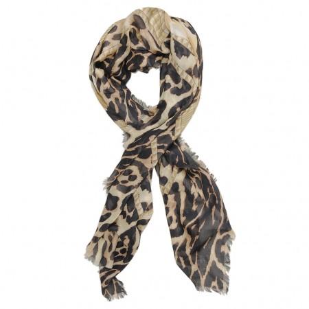 Givenchy Schal schwarz/beige Leo