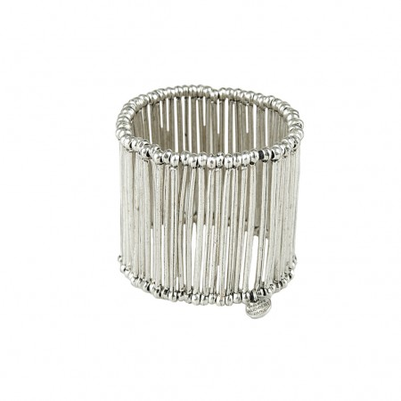 Philippe Audibert Armband silver metal bars