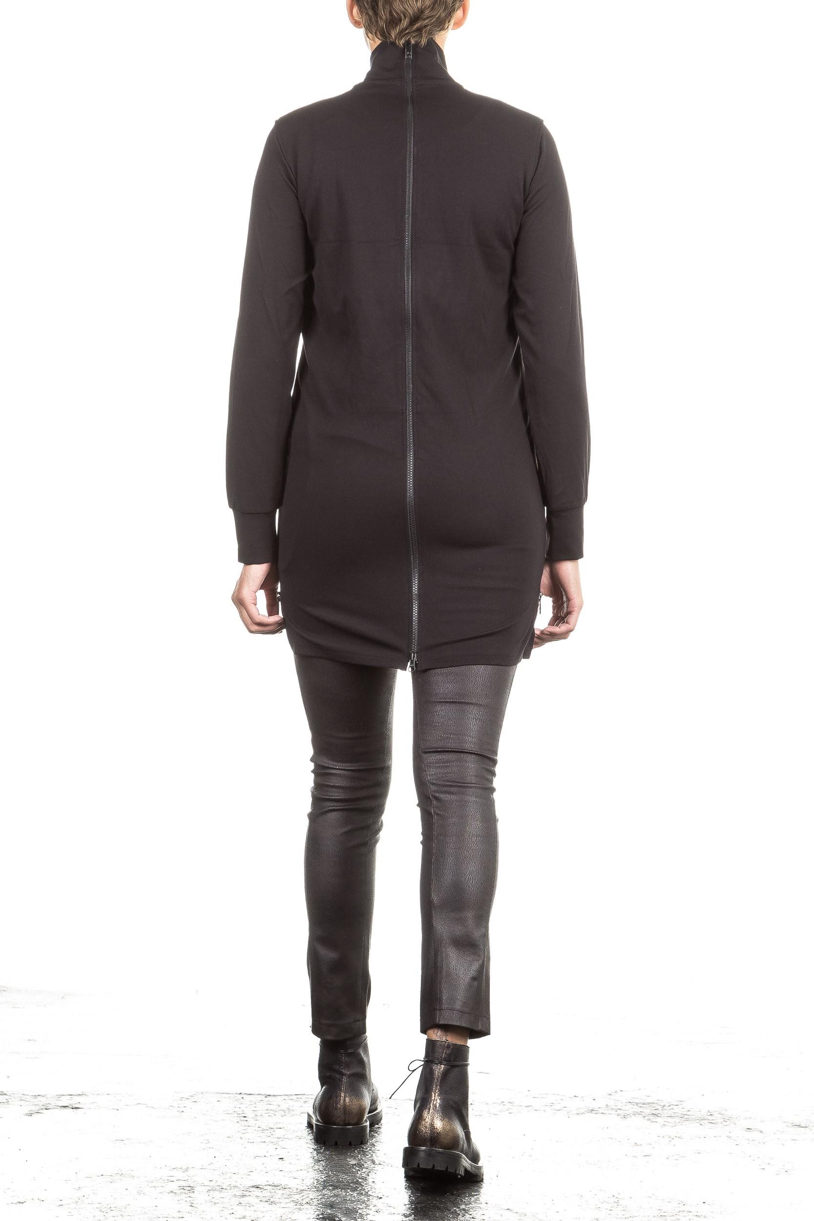 Y 3 Damen Sweat Mantel LUX TRACK schwarz   LuxuryLoft