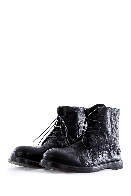 rundholz dip herren leder ankle boot schwarz luxuryloft. Black Bedroom Furniture Sets. Home Design Ideas
