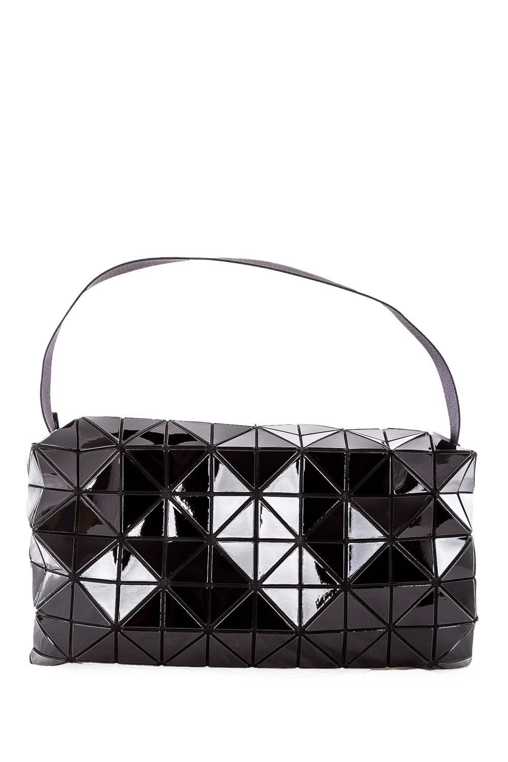 bao bao issey miyake carton s large messenger bag schwarz luxuryloft. Black Bedroom Furniture Sets. Home Design Ideas