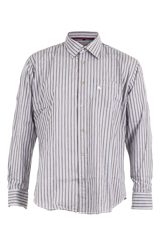 premium selection b4b41 d1b63 Gardeur Herren Hemd gestreift blau braun