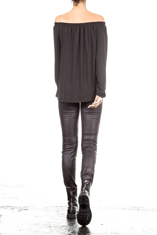 Janice & Jo Damen Bluse schwarz | LuxuryLoft