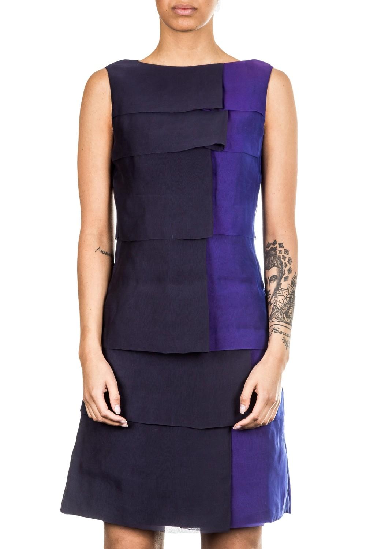 Anett Röstel Damen Cocktailkleid blau violett   LuxuryLoft