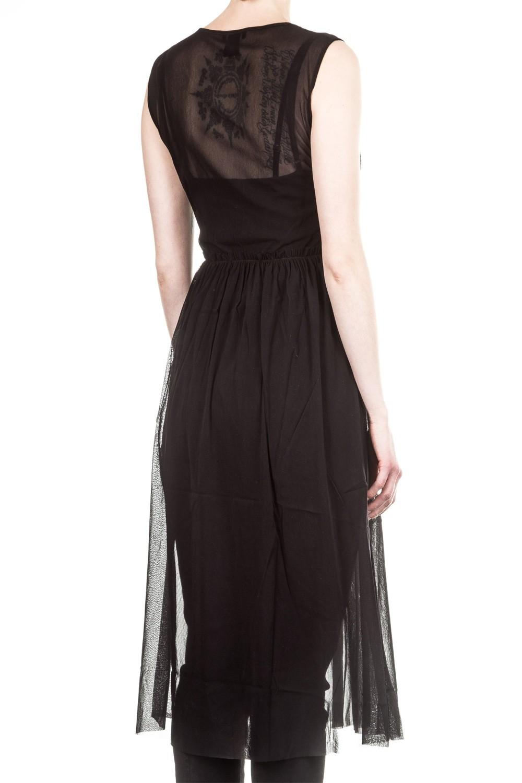 AVANT TOI Damen Tüll Kleid schwarz | LuxuryLoft