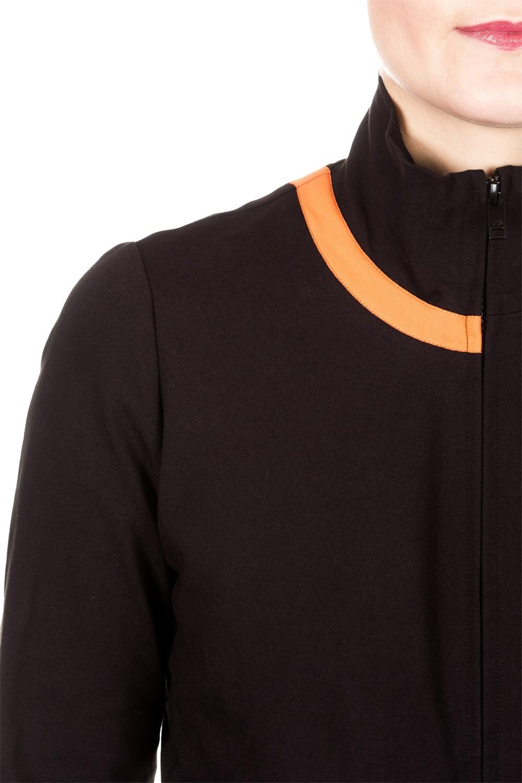 Y-3 Damen Sweat Jacke 3S TRACK schwarz | LuxuryLoft
