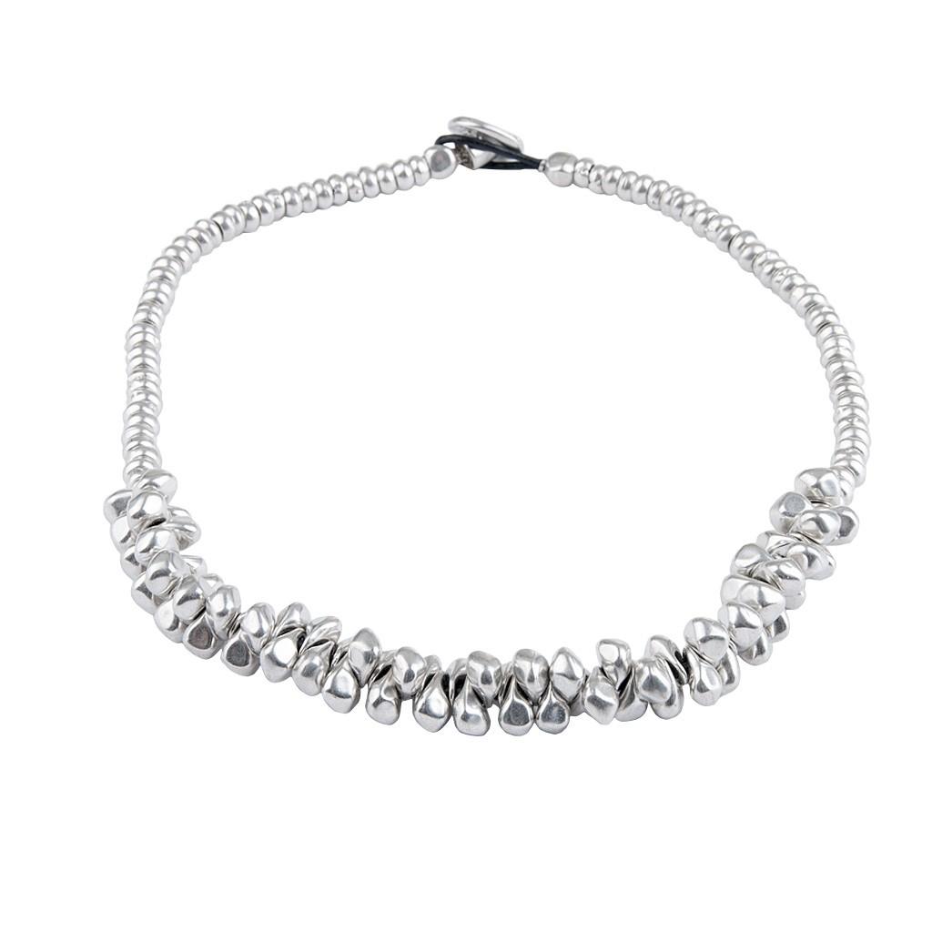 Silber halskette  MACA Kitzbühel Halskette K054 silber und schwarz | Halskette ...