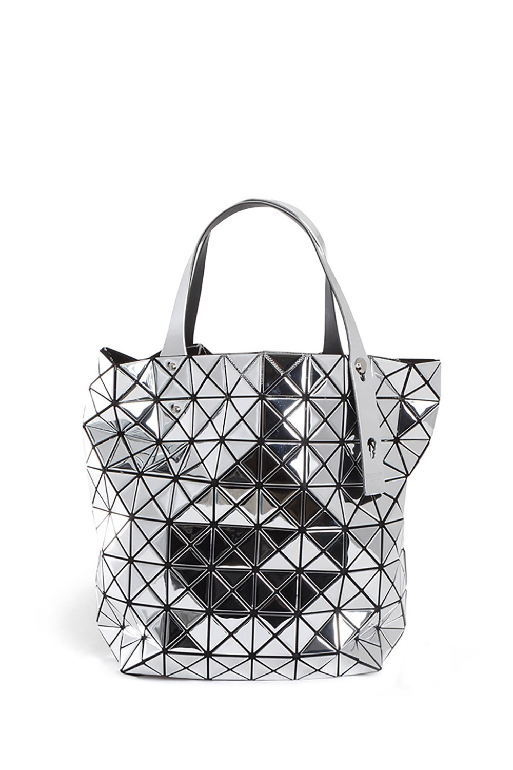 bao bao issey miyake tragetasche silber luxuryloft. Black Bedroom Furniture Sets. Home Design Ideas