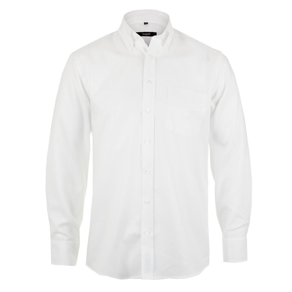 Bugatti Herren Hemd weiß   Hemden für Herren online kaufen bei ... e321d94b32