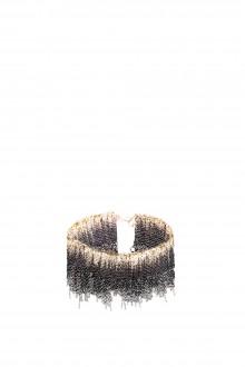 17 by Stephanie Schneider Kettenarmband schwarz gold